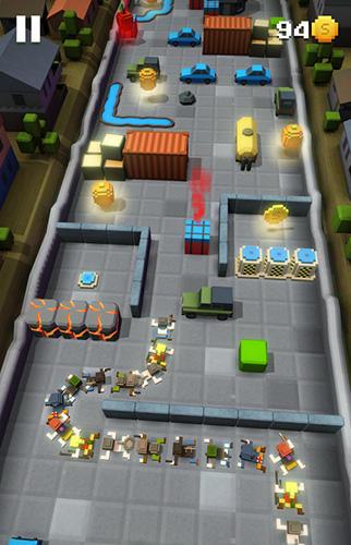 Arcade-Spiele Blocky snakes für das Smartphone