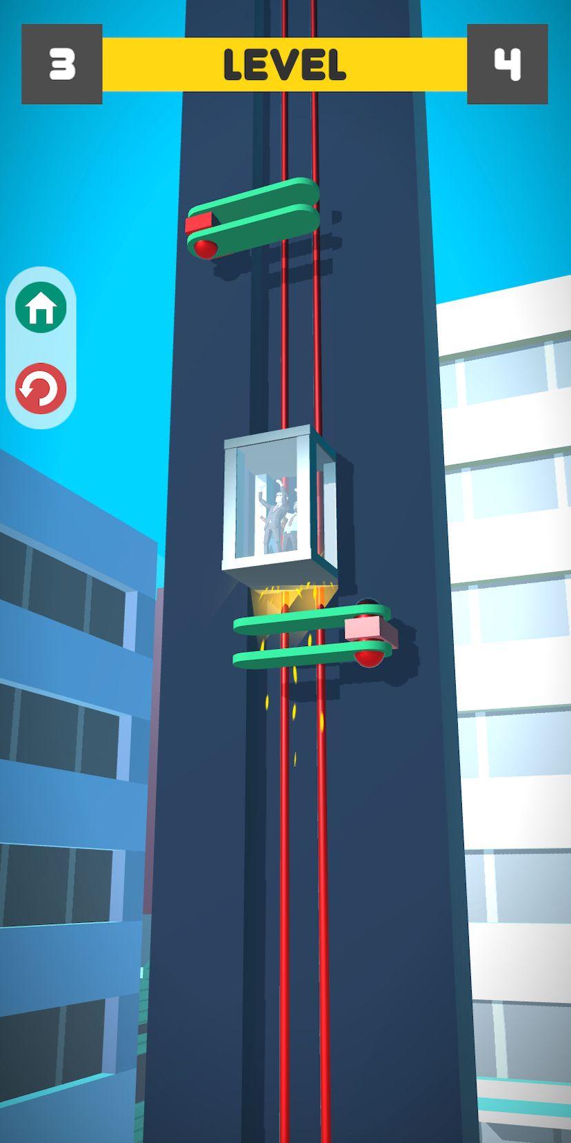 Lift Survival 3D - elevator rescue surviving game pour Android