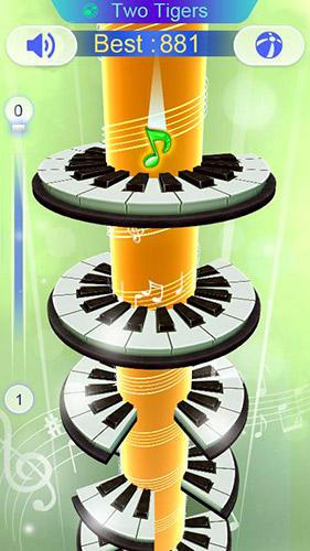 Arcade-Spiele Piano loop für das Smartphone