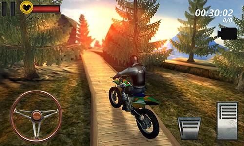 Motorcycle hill climb sim 3D auf Deutsch