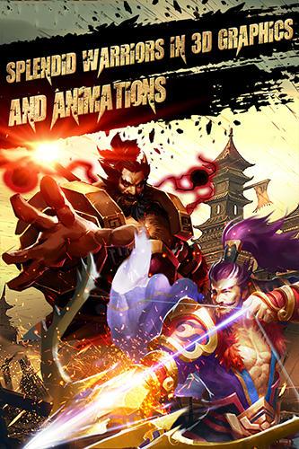 Dynasty saga 3D: Three kingdoms para Android