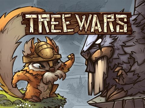 logo Krieg der Bäume