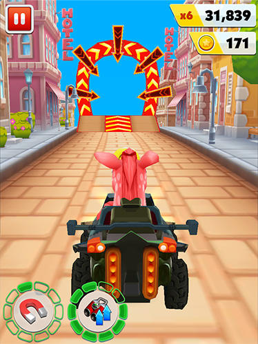 Arcade Pony craft unicorn car racing: Pony care girls für das Smartphone