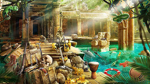 Treasure hunt hidden objects adventure game für Android