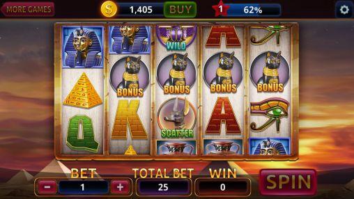 Egypt slots casino machines screenshot 2