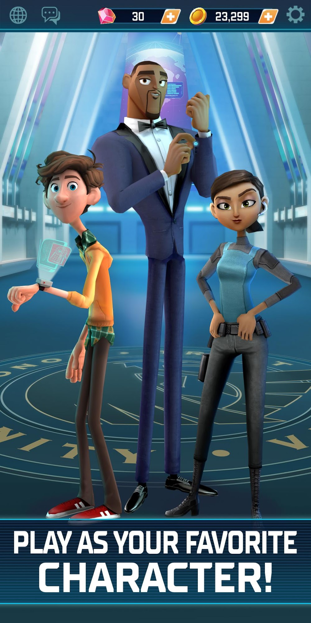 Spies in Disguise: Agents on the Run скриншот 1