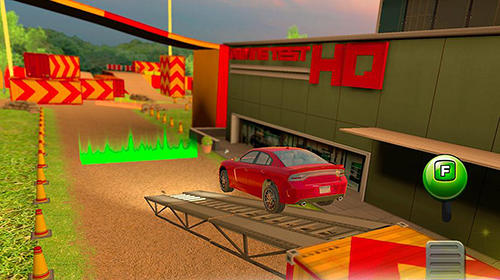 Obstacle course: Car parking sim for Android