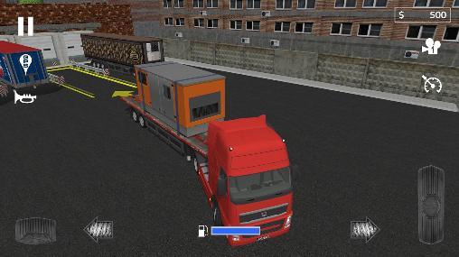 Cargo transport simulator auf Deutsch