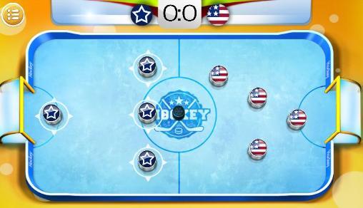 Arcade-Spiele Mini hockey: Stars für das Smartphone