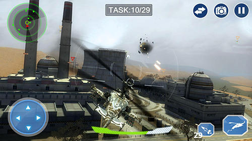 Air force lords: Free mobile gunship battle game para Android