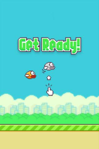 Flappy bird in Russian