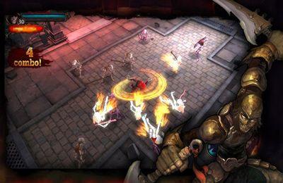 Captura de pantalla El vengador de la oscuridad en iPhone