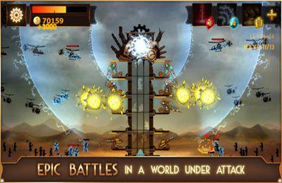 Screenshot Steampunk Turm auf dem iPhone