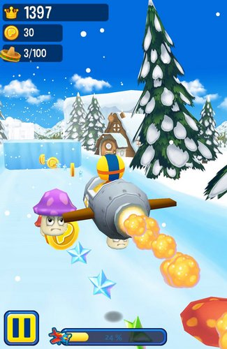 Pororo: Penguin run pour Android