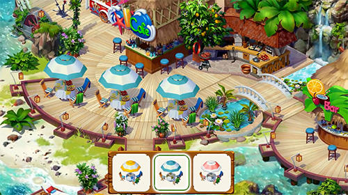 Tropical forest: Match 3 story para Android