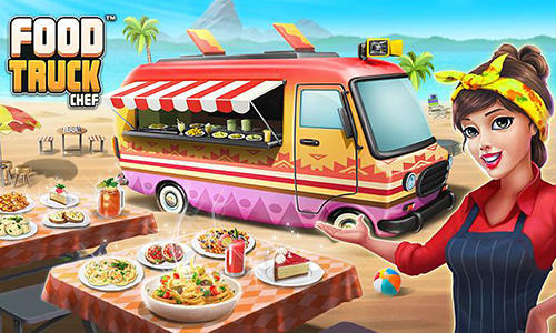 Food truck chef: Cooking game скриншот 1