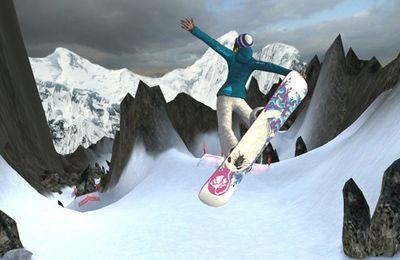 Sportspiele Snowboard fahren auf Deutsch
