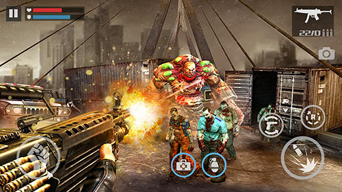 Action Zombie shooter: Dead warfare for smartphone