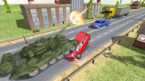 Tank Traffic Racer für Android