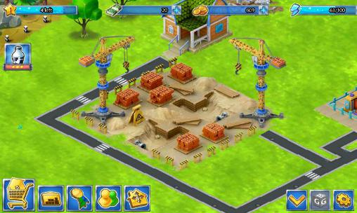 Strategy games Family town for smartphone