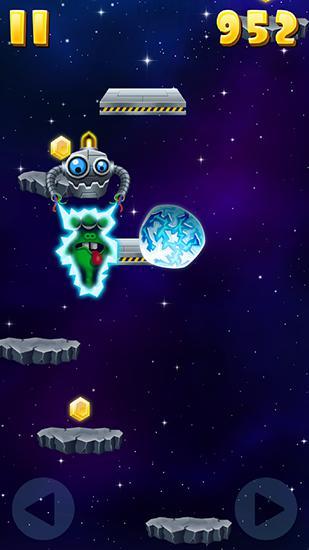 Arcade-Spiele Monster jump: Galaxy für das Smartphone