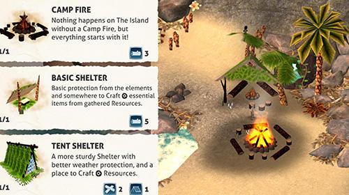 The island: Survival challenge für Android