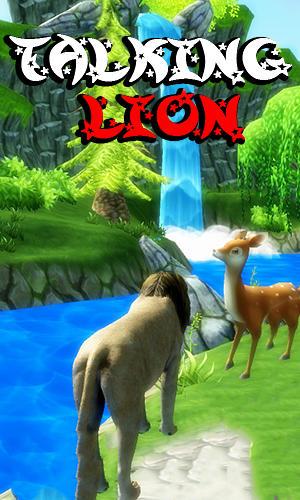 Talking lion Screenshot