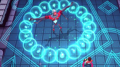 Action Rogue gunner: The digital war. Pixel shooting für das Smartphone