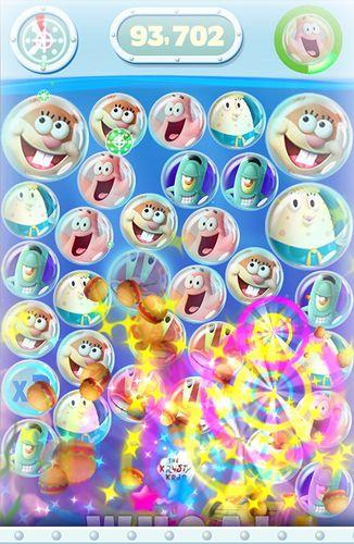 Screenshot Sponge Bob: Bubble Party auf dem iPhone