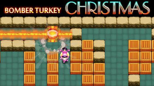 Bomber turkey: Christmas скриншот 1