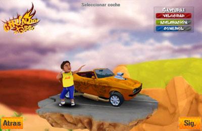 Rennen auf mexikanisch auf Deutsch