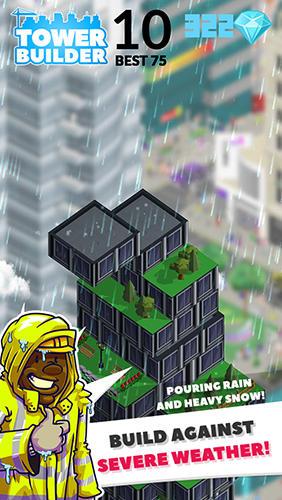 Arcade-Spiele Tower builder: Build it für das Smartphone
