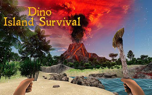логотип Выживание на острове динозавров