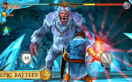 Open world games Beast quest in English