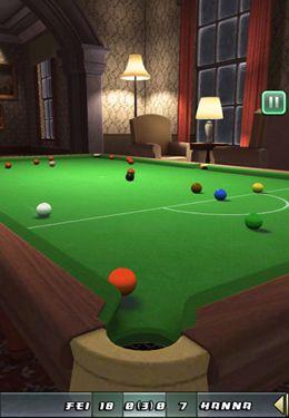Le Club de Snooker pour iPhone gratuitement