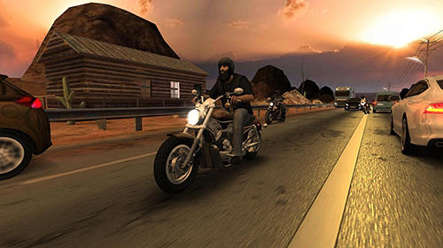 Racing fever: Moto screenshot 1