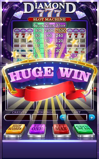 Diamond 777: Slot machine en français