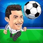 Mini football: Soccer head cup Symbol
