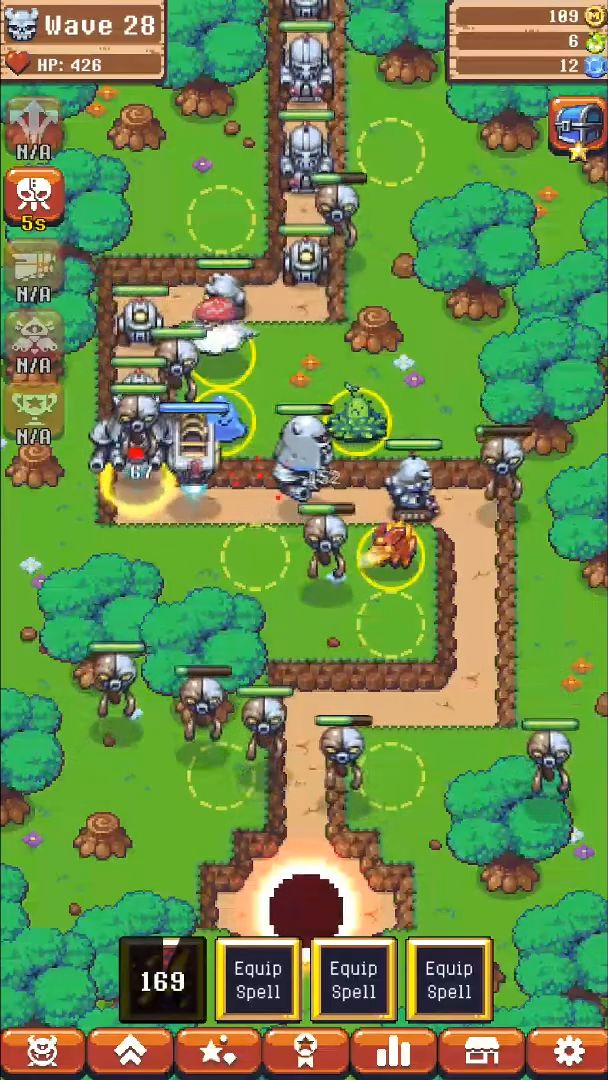 Epic Monster TD - RPG Tower Defense for Android