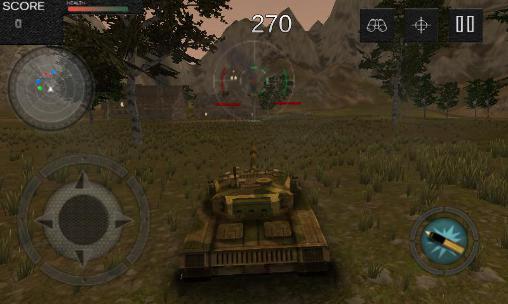Tank battle 1990: Farm mission für Android