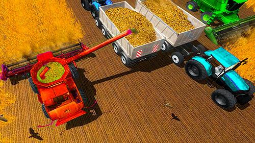 Traktor-Spiele Farmer's tractor farming simulator 2018 auf Deutsch
