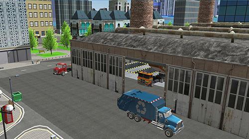 Simulator-Spiele Garbage truck simulator pro 2017 für das Smartphone