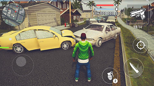 Android Shooter für BBK: The grand wars: San Andreas