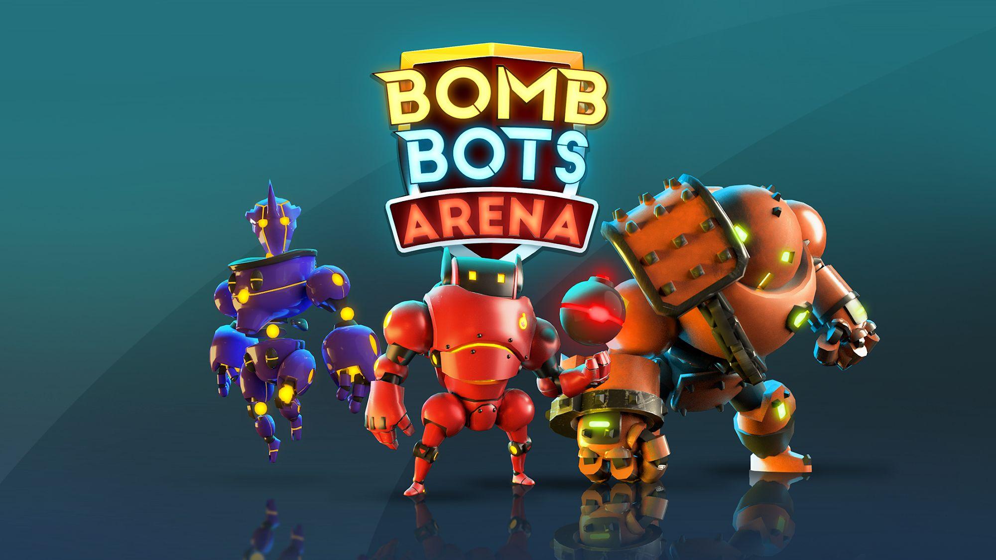 Bomb Bots Arena - Multiplayer Bomber Brawl capture d'écran 1