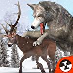 Wolf simulator extreme icon