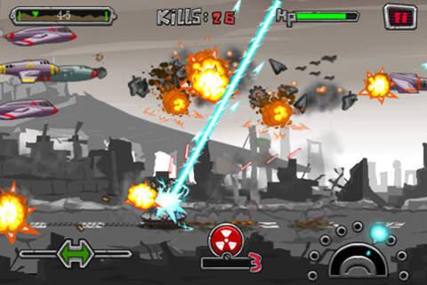Screenshot Panzer-Angriff auf dem iPhone