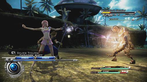 RPG Final fantasy 13-2 für das Smartphone