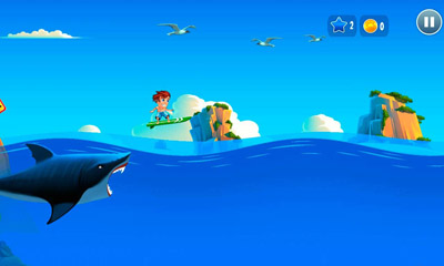 Banzai Surfer for iPhone for free