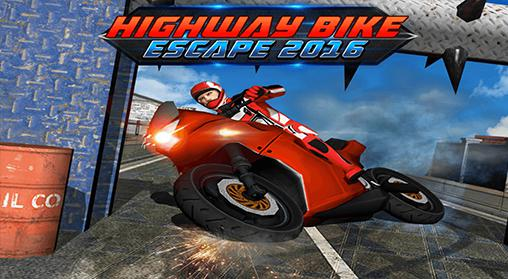 Highway bike escape 2016 Screenshot