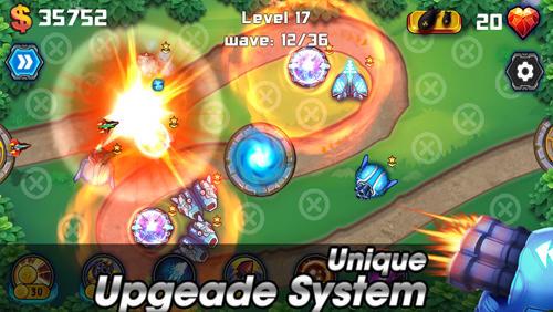 Tower defense: Battlefield für Android